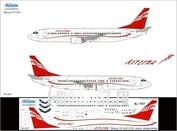 734-007 Ascensio 1/144 Декаль на самолет боенг 737-400 (Arzena - Georgan Arlines)