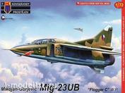 """KPM0140 Kovozavody Prostejov 1/72 MiG-23UB """"Flogger C"""" Warsaw Pact"""""""