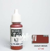 70982 acrylic Paint `Model Color Brown/Cavalry brown