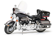 16037 Tamiya 1/6 Мотоцикл Harley Davidson FLH Classic - Black (ограниченная серия)