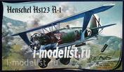 72004 Avis 1/72 Henschel Hs 123 A-1