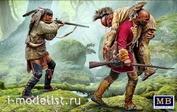 35210 MasterBox 1/35 Фигуры «Раненый брат». Серия «Индейские войны», XVIII век. Набор №2