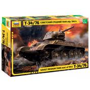 3525-1 Звезда 1/35 Т-34/76 Советский средний танк 1943 + набор красок Pacific88