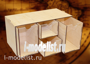 MWP-0010-21 WinModels Касcетный модуль-органайзер (аптечка) на 4 ящичка