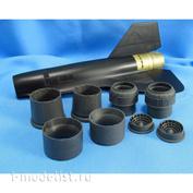MDR4859 Metallic Details 1/48 Набор дополнений для SR-71 Blackbird. Реактивные сопла