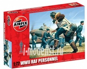 1747 Airfix 1/72 RAF Personnel