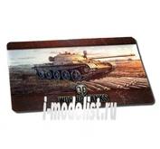 1325 World of Tanks Мат настольный для мыши «Т-62А» большой