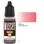 1713 Green Stuff World Wash color PECATUM FLESH 17 ml