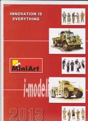 2013 MiniArt Каталог продукции на 2013 год