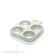 А120-01 MiniWarPaint Палитра для краски прямоугольная, 4 ячейки
