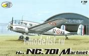 RVA72004 R.V.AIRCRAFT 1/72 Nord NC.701 Martinet