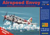92095 RS Models 1/72 Airspeed Envoy Cheetah engine