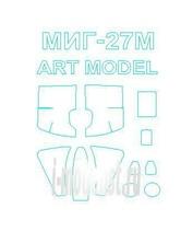 72183 KV Models 1/72 Набор окрасочных масок для МиК-27М