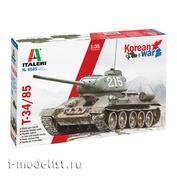6585 Italeri 1/35 T-34/85 Korean War Tank