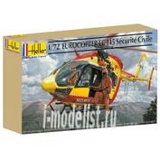 80375 Heller 1/72 Вертолет Eurocopter EС-145 Securite CIV