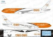 76F-001 Ascensio 1/144 Декаль на самолет боенг 767-300F (TNT)