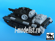 T35024 Black dog 1/35 Cromwell accessories set for Tamiya