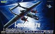 L4810 Great Wall Hobby 1/48 Американский тяжелый ночной истребитель P-61B Black Widow Last Shoot Down