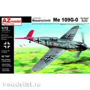 AZ7547 AZ Model 1/72 Самолет Messerschmitt Me 109G-0