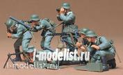 35038 Tamiya 1/35 Немецкие пулеметчики 7фигур