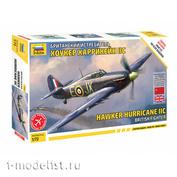 7322 Звезда 1/72 Британский истребитель Хоукер Харрикейн IIC