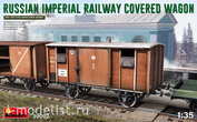 39002 MiniArt 1/35 Railway Covered Car Of The Russian Empire