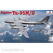 72032 Amodel 1/72 Самолет Туполев Т-у-95 М.У.