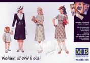 35148 MasterBox 1/35 Женщины второй Мировой войны