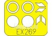 EX269 Eduard 1/48 Маска для F-22