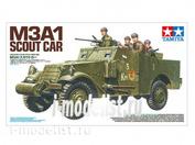 35363 Tamiya 1/35 M3A1 SCOUT CAR разведывательный бронеавтомобиль с 5 фигурами советских солдат