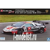 007181 Aoshima 1/24 Lamborghini Murcielago 2011 GT1 Zolder #38