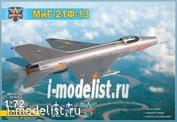 72042 Modelsvit 1/72 M&G-21F-13