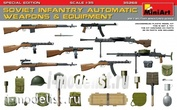 35268 MiniArt 1/35 Soviet infantry automatic weapons and equipment. Spets.edition