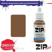 26010 ZIPMaket Краска акриловая Светло-коричневый