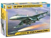 7295 Zvezda 1/72 Russian multi-purpose fighter superiority in the air su-27SM