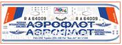 pas052 PasDecals 1/144 Декали Т-у-204-100 Аэрофлот RA-64009