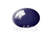 36154 Revell Аква- краска иссиня-черная глянцевая