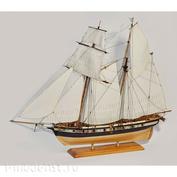 E7202 Эскадра 1/72 Сборная деревянная модель Шхуна «Ласточка»