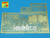 48 001 Aber 1/48 Photo Etched Parts For Sd.Kfz.181 Pz.Kpfw.VI Ausf.E Tiger I Early Production Vol.1 - Basic set