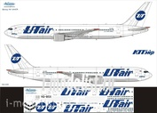 763-009 Ascensio 1/144 Scales the Decal on the plane Boeng 767-300 (UTair)