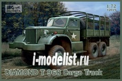 72019 IBG models 1/72 Diamond T968 Cargo Truck
