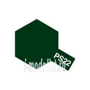 86022 Tamiya Краска-спрей PS-22 Racing Green