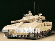 35127 Tamiya 1/35 Израильский танк Merkava с 105-мм пушкой и 1 фигурой танкиста