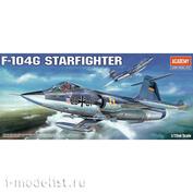12443 Academy 1/72 Истребитель F-104G Starfighter
