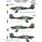 48026 ColibriDecals 1/48 Decal for Ju-87 B-1 (Operation Barbarossa)
