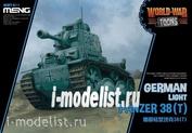 WWT-011 Meng German Light Tank Panzer 38T