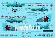 777300-04 PasDecals 1/144 Декаль на Boing 777-300 Звезда Canada Vancouver 2010
