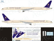 773-014 Ascensio 1/144 Декаль на самолёт 777-300ER (Varig (Soccer Team))