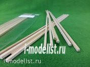 5109 СВмодель Рейки 3х3 мм, длина 300 мм, 10 шт, липа
