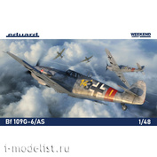 84169 Eduard 1/48 Aircraft Bf 109G-6/ AS